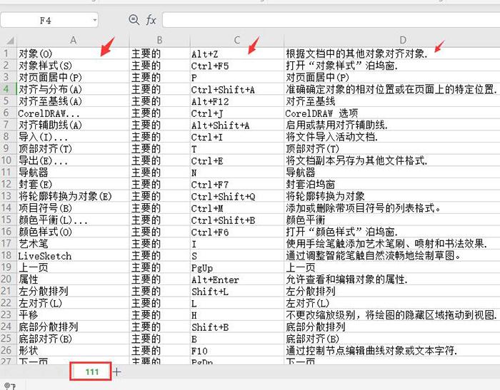 图6:储存的快捷键文件