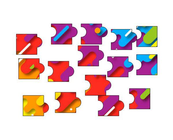 图1:图片拼图
