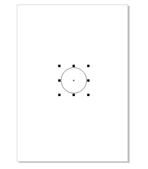 图2:绘制圆形