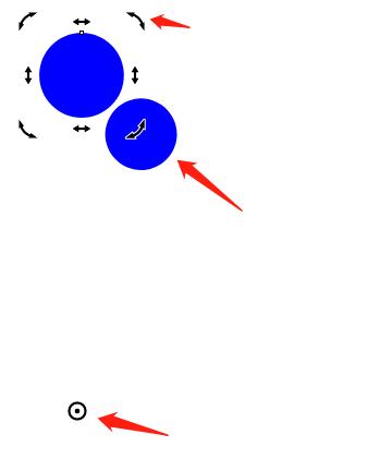 图2:变化圆形