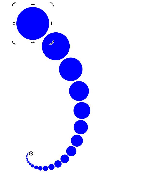 图3:初具雏形的漩涡
