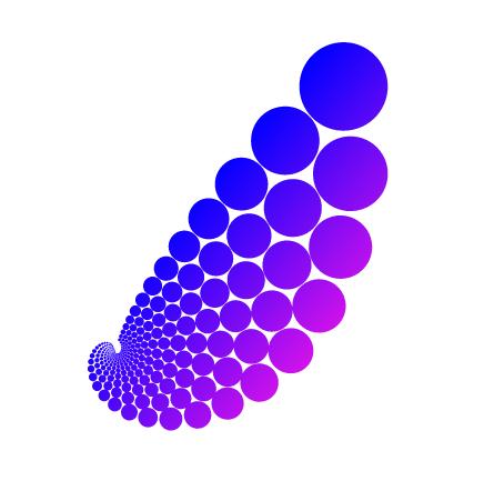 图9:圆形漩涡效果图