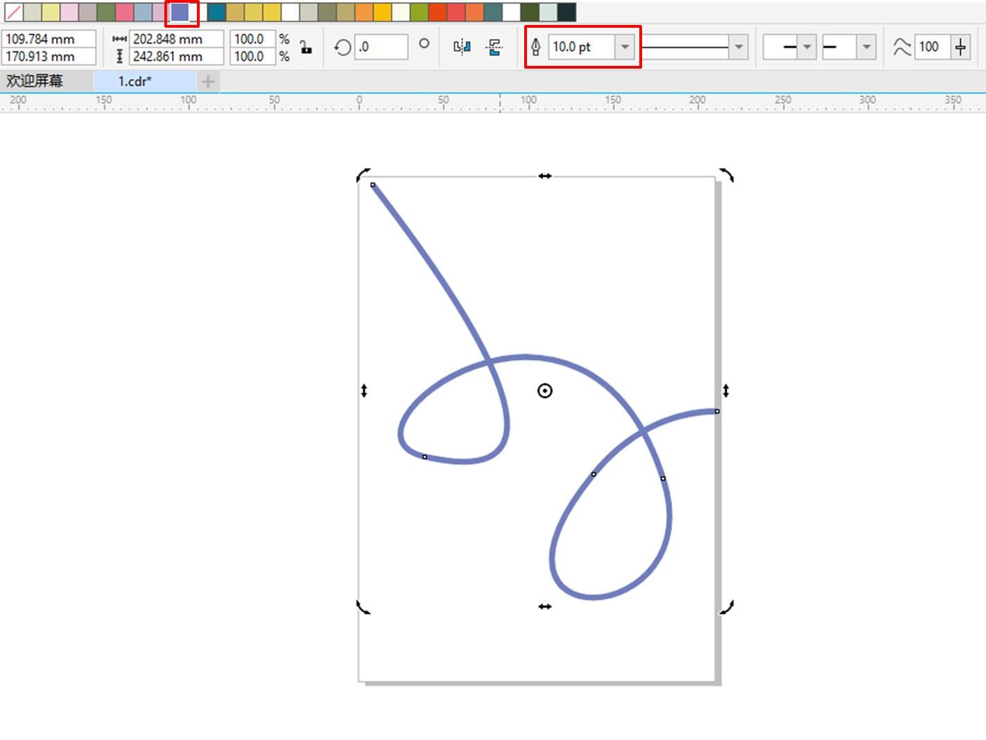 图16:填充线条