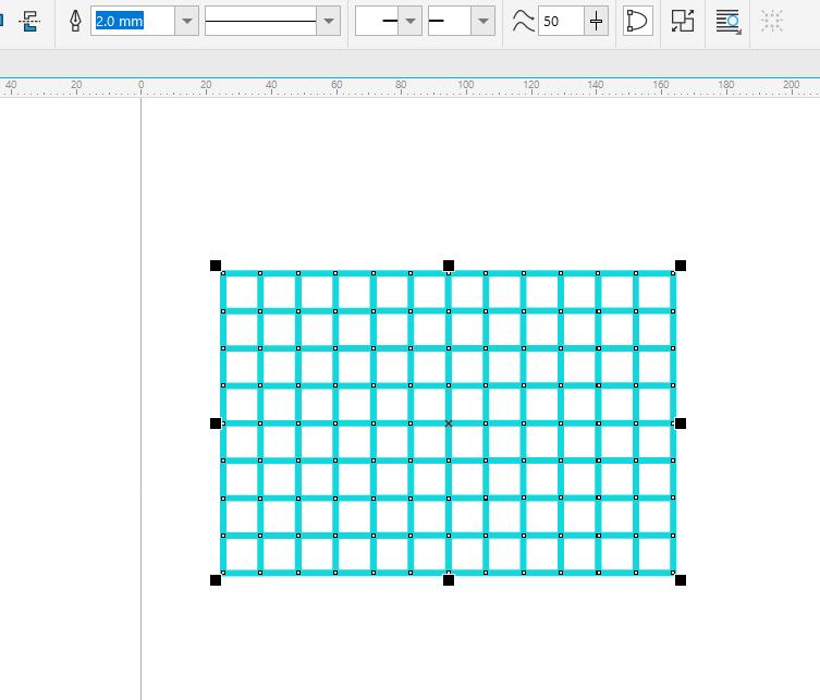 图2:调整矩形
