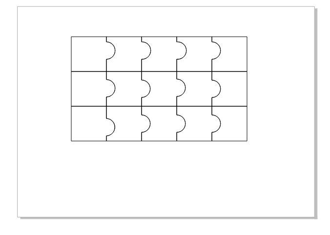 图9:完成拼图的制作
