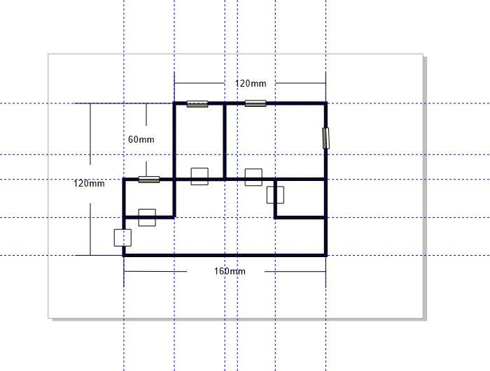 图5:放置矩形