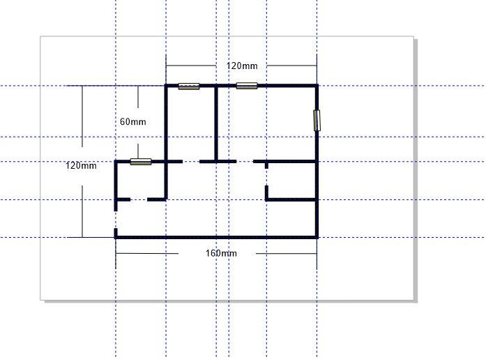 图6:完成其他线条的删除