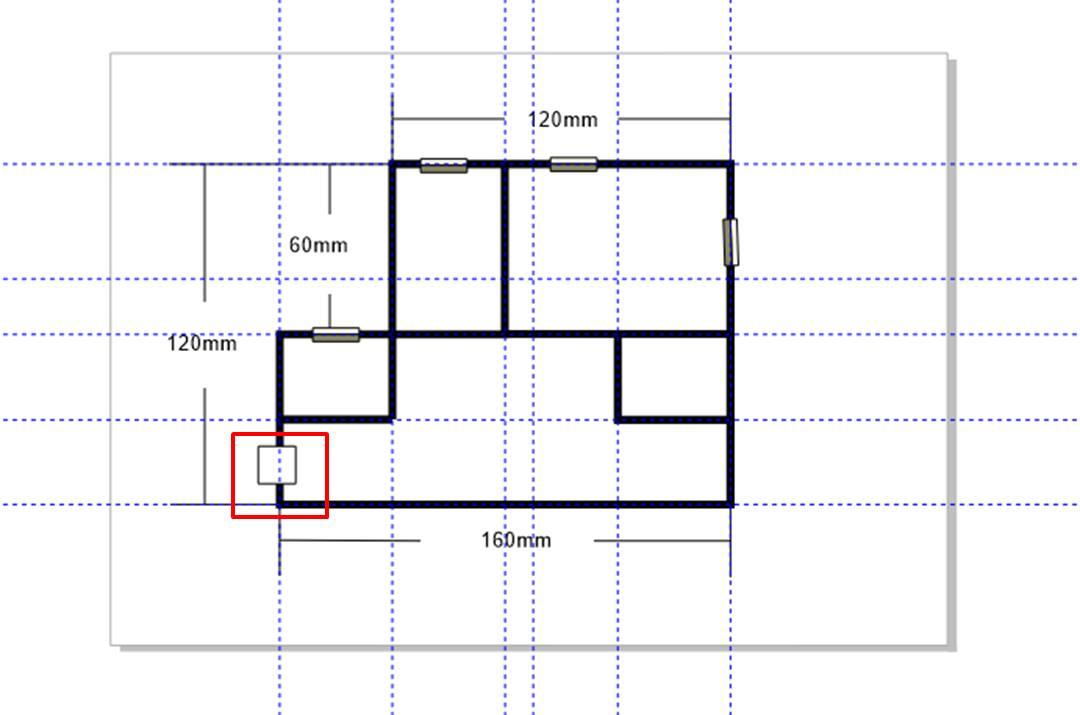 图4:完成部分线条的删除