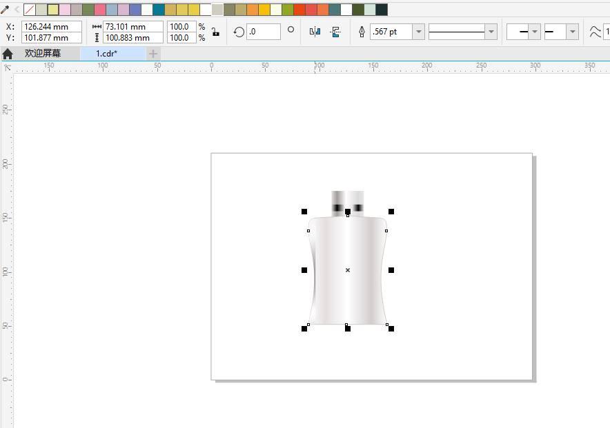 图10:填充边框