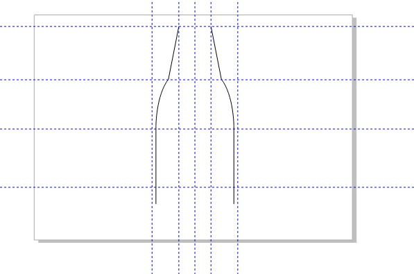 图11:调整水平镜像位置