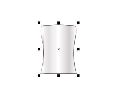 图1:润肤露瓶身矢量图
