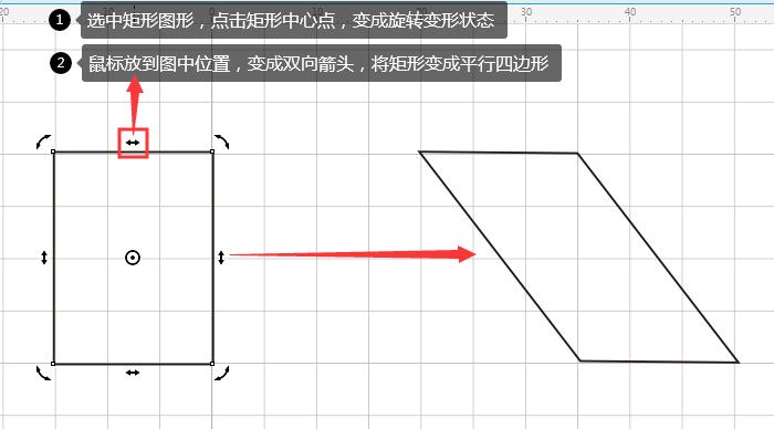 矩形图案变形图