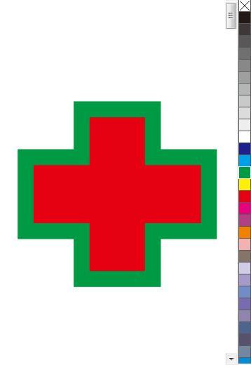 详解CorelDRAW 默认调色板的使用