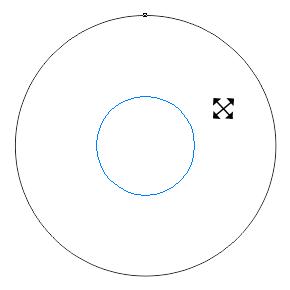 CDR同心圆