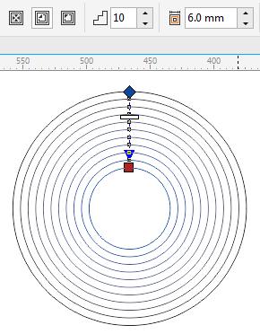 CDR轮廓图