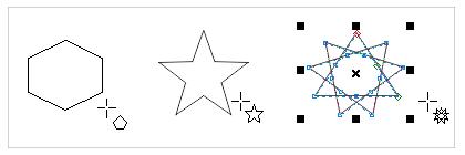 绘制多边形和星形