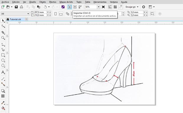 CDR设计高跟鞋