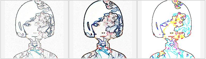 轮廓图滤镜组