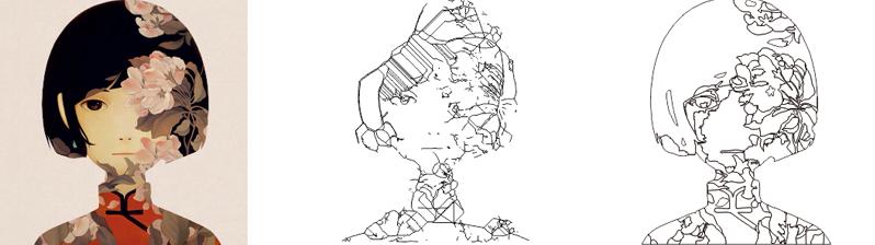 中心线描摹