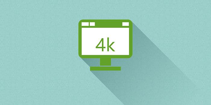 对 UltraHD 4K支持