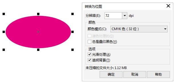 CDR椭圆