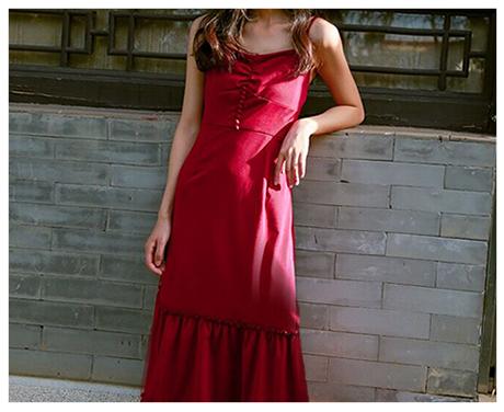 CDR连衣裙