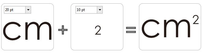 平方米符号