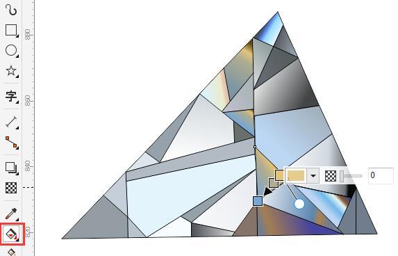 CDR钻石效果