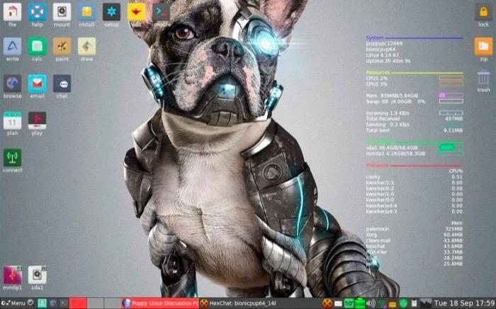 Puppy Linux发行版