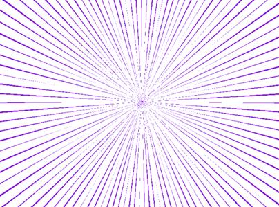 线条间距(距离)减小调整效果