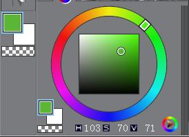 选择描边颜色