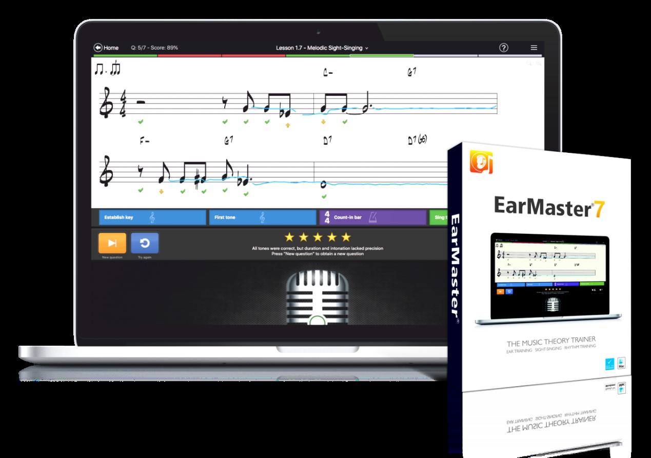 EarMaster7.1.32更新说明