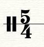 四五拍拍号