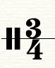 四三拍拍号