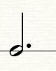 图3:附点二分音符