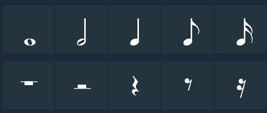 其他基础音符