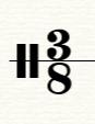 八三拍拍号