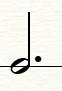 图1:附点二分音符
