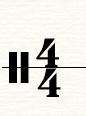 四四拍拍号