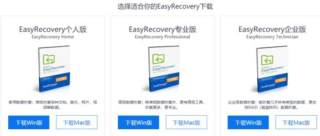 图片1:下载EasyRecovery