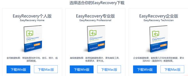 EasyRecovery恢復數據的具體步驟是什么?
