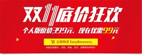 EasyRecovery双十一底价狂欢