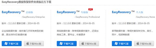 如何下载EasyRecovery数据恢复软件免费版