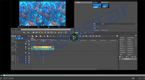 EDIUS立体素材特效添加视频教程