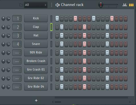 在FL Studio20中逐个添加音符