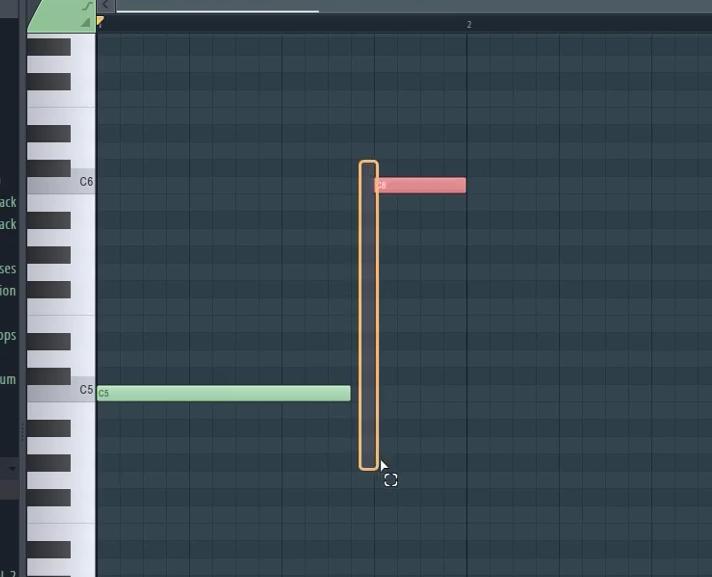 图2:音符界面