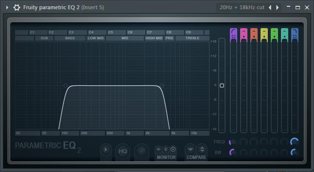 给Bass加上的第一个均衡器