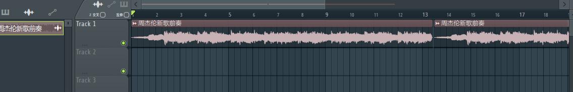 复制音频界面