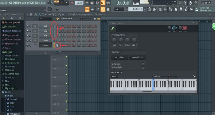 FL Studio20乐器组合效果图
