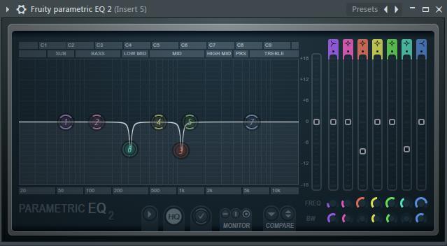 给Bass加上的第二个均衡器